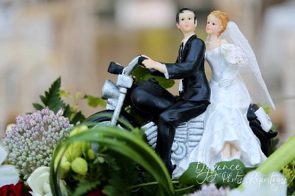 Figurines. Mariés.