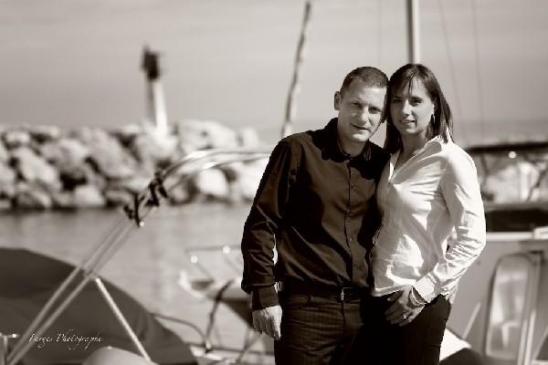 Séance d'engagement avec Valérie & José